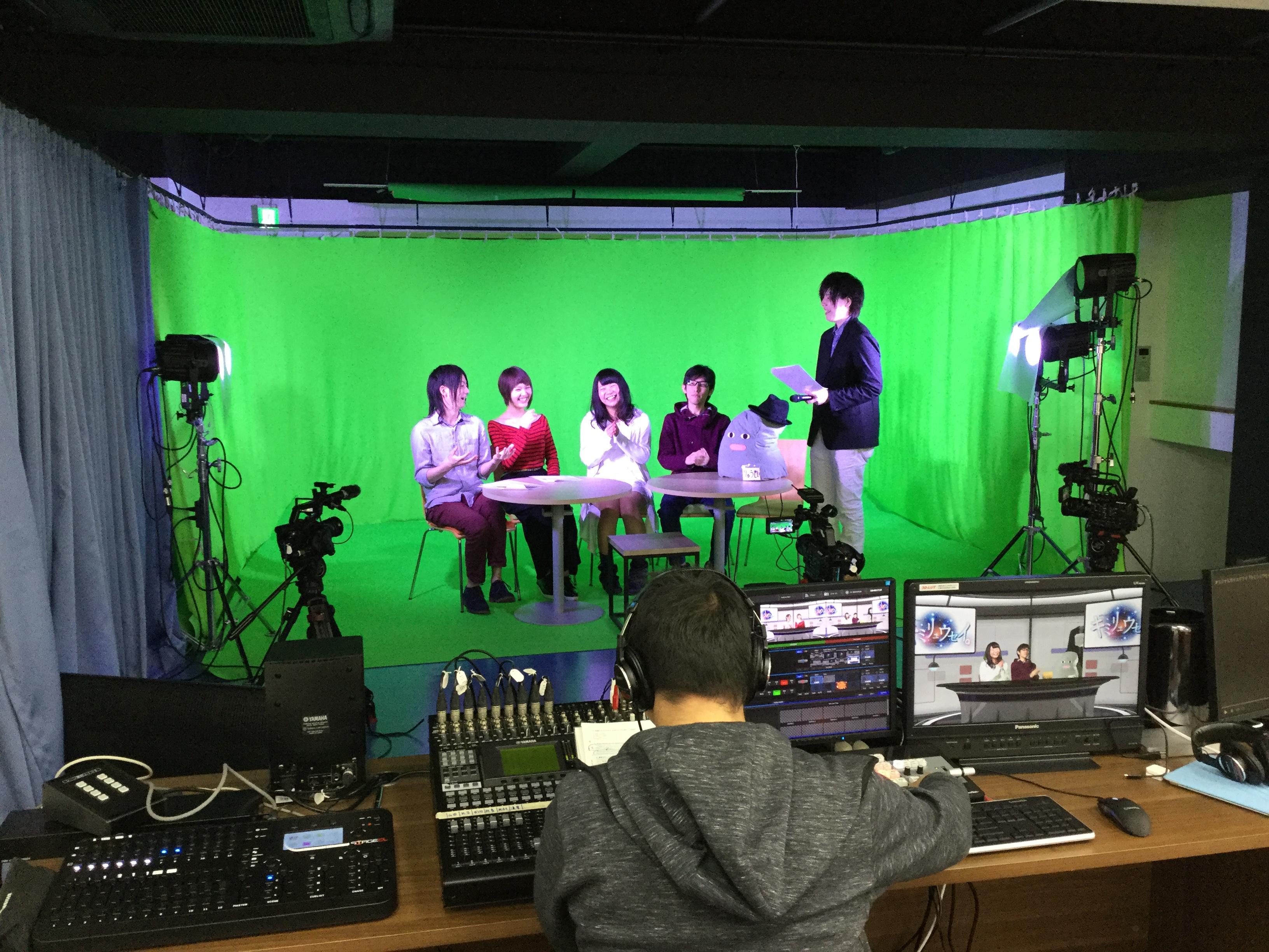 新宿にあるネット動画スタジオDo-Ga 1F